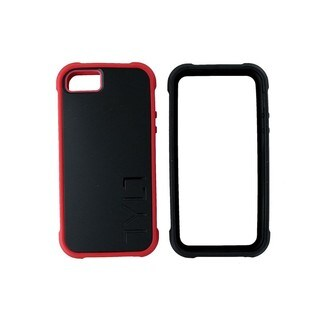 Tylt Bumpr Black and Red Case for Apple iPhone 5/5S/SE
