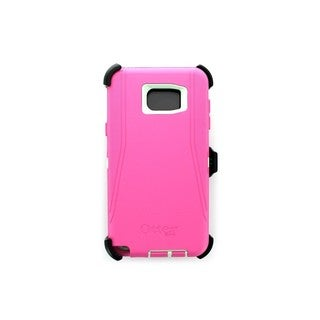 Case Mate OtterBox Defender Pink/Green Samsung Galaxy Note 5 OEM Cover/Case