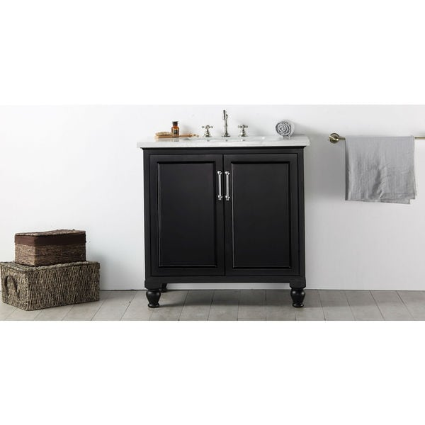 Legion Furniture Quartz Top 36 Inch Espresso Single Bathroom Vanity Free Shipping Today
