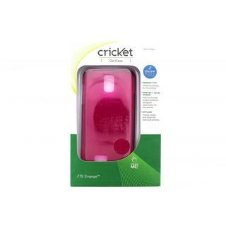 Cricket Fuschia Gel Case for ZTE Engage