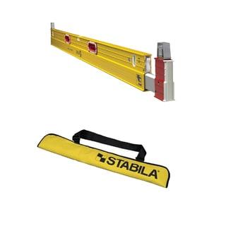 Stabila 35712 Type 2 106T Extendable Construction Level & Plate Level Case w/ 2