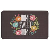 """Mohawk Home Home Sweet Home Dri-Pro Comfort Doormat - multi - 1' 6"""" x 2' 6"""""""