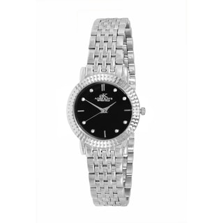 Adee Kaye Women's Stainless Steel Crystal Swiss Quartz Watch