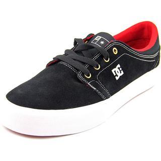 DC Shoes Men's Trase S Black Suede Athletic Shoes