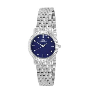 Women's Swiss Stainless Steel & Crystal Watch Design by Adee Kaye