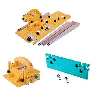 MicroJig TJ-5000 Microdial Tapering Jig with 3D Pushblock and Leg Accessory