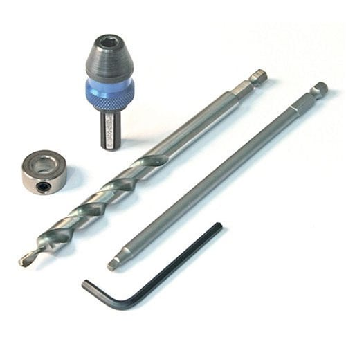 Kreg Quick-Change Pocket-Hole Kit, Grey metal