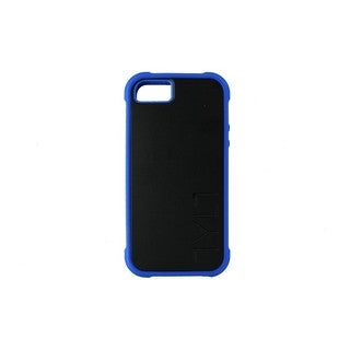 Cricket Tylt Bumpr Black and Blue Case for Apple IPhone 5, 5S, or SE