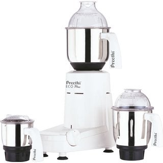 Preethi Eco Plus 3-jar Mixer Grinder