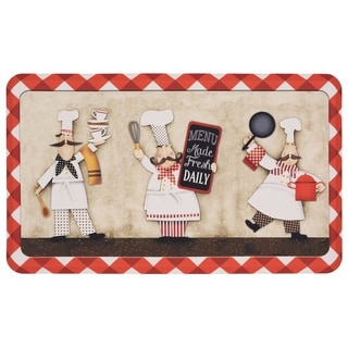 Mohawk Home Three Panel Chefs Dri- Pro Comfort Mat (1'6 x 2'6)