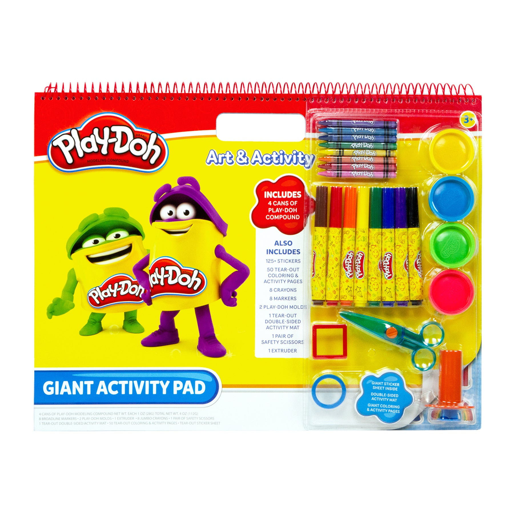 Play-Doh Unisex Giant Art and Activity Pad (G788958090501)