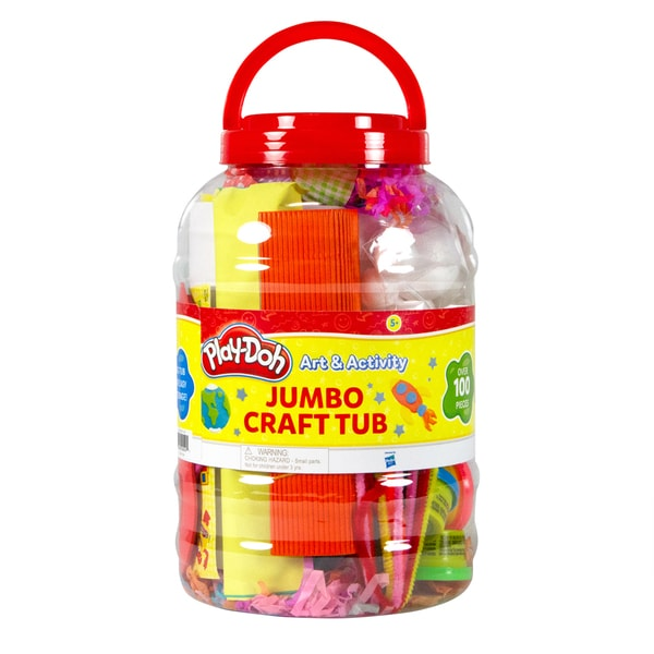 Play-Doh Jumbo Art and Activity Craft Tub