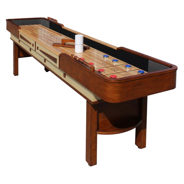 Merlot 12 Ft Shuffleboard Table