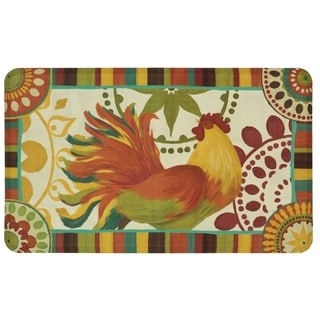 Mohawk Home Painted Spice Rooster Dri- Pro Comfort Mat (1'6 x 2'6)