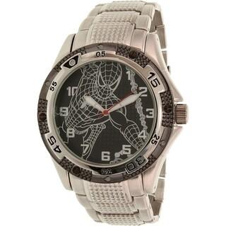 Disney Men's Spider-Man SPM321 Silver Metal Quartz Watch