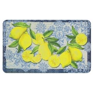 "Mohawk Home Classy Italian Lemons Dri- Pro Comfort Mat (1'6 x 2'6) - 1' 6"" x 2' 6"""