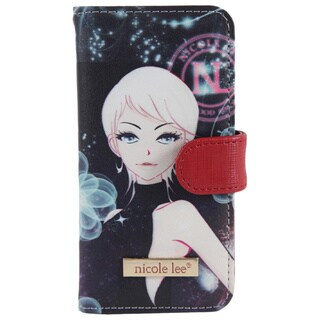 Nicole Lee Erika Print Synthetic Leather IPhone 6 Case