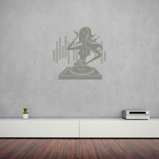 Style and Apply DJane Vinyl Wall Decal