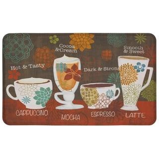 Mohawk Home Tasty Coffee Words Dri- Pro Comfort Mat (1'6 x 2'6)