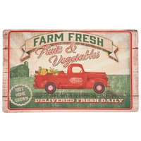 "Mohawk Home Vegetable Trucks Dri- Pro Comfort Mat - 1' 6"" x 2' 6"""