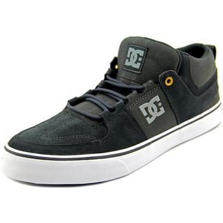 DC Shoes Men's 'Lynx Vulc Mid' Grey Regular Suede Athletic Shoes