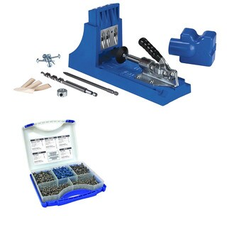 Kreg Jig K4 Pocket Hole System With SK03 Pocket-Hole Screw Kit