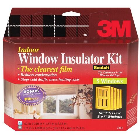 3M Interior Shrink Film Window Kit