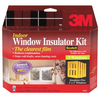 3M Interior Shrink Film Window Kit