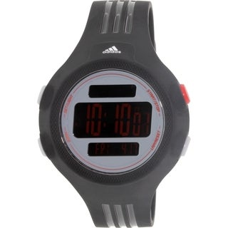 Adidas Men's Questra Black Rubber Quartz Watch