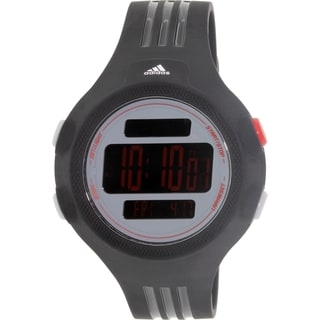 Adidas Men's Questra Black Rubber Quartz Watch
