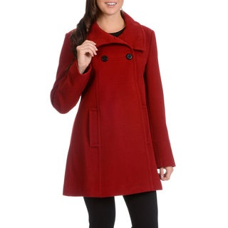 Ladies Double Breasted Aline Coat