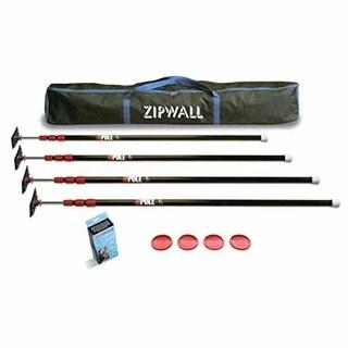Zipwall ZipPole 4-Pack