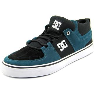 DC Shoes Men's 'Lynx Vulc Mid' Black Regular Suede Athletic Shoes