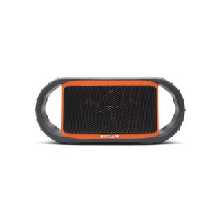 ECOXBT Orange/Black Waterproof Bluetooth Speaker