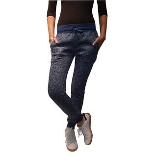 Riviera Women's Blue Polyester/Cotton Active Jogger Pants