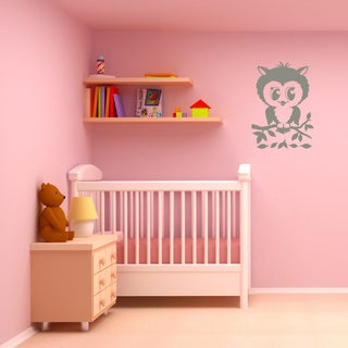 Pretty Owl Wall Decal
