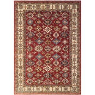 Super Kazak Zee Red Rug (8'10 x 12'0)