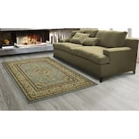 "Sweet Home Stores King Medallion Design Oriental Area Rug, (5' x 7') - 5'3""x7'"