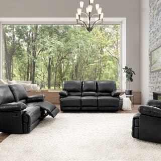 CorLiving Lea 3-piece Bonded Leather Reclining Sofa Set|https://ak1.ostkcdn.com/images/products/12734265/P19513080.jpg?impolicy=medium