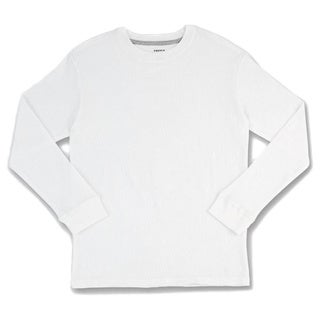 French Toast Boys' Cotton Solid Thermal Shirt