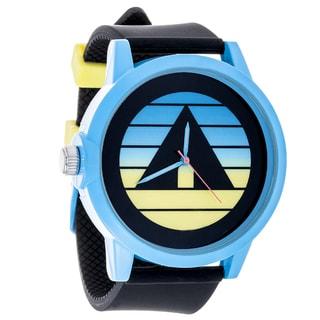 Airwalk Metal Alloy Design w/ Blue Case and Black Strap Analog Watch