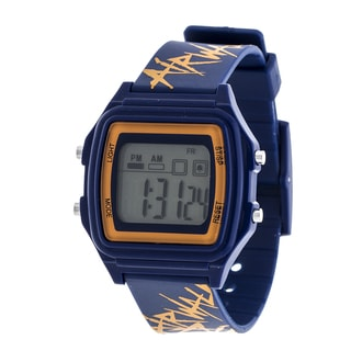 Airwalk Navy Blue Digital Watch w/ Silicon Strap Design