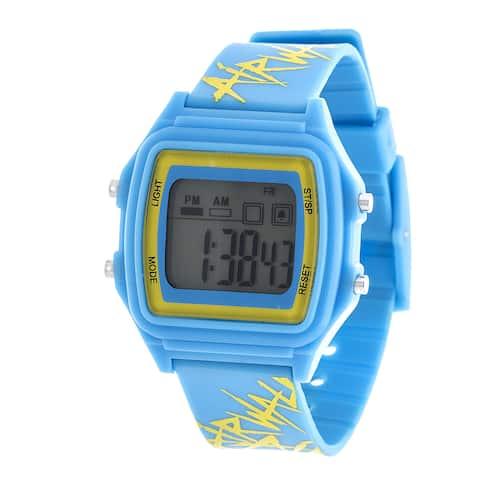 Airwalk Blue Digital Watch w/ Silicon Strap Design