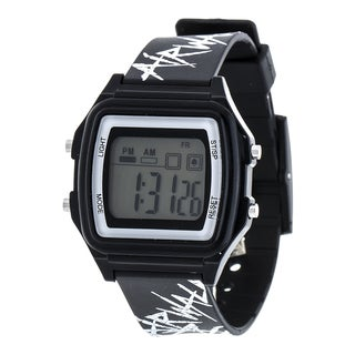 Airwalk Black Digital Watch w/ Silicon Strap Design