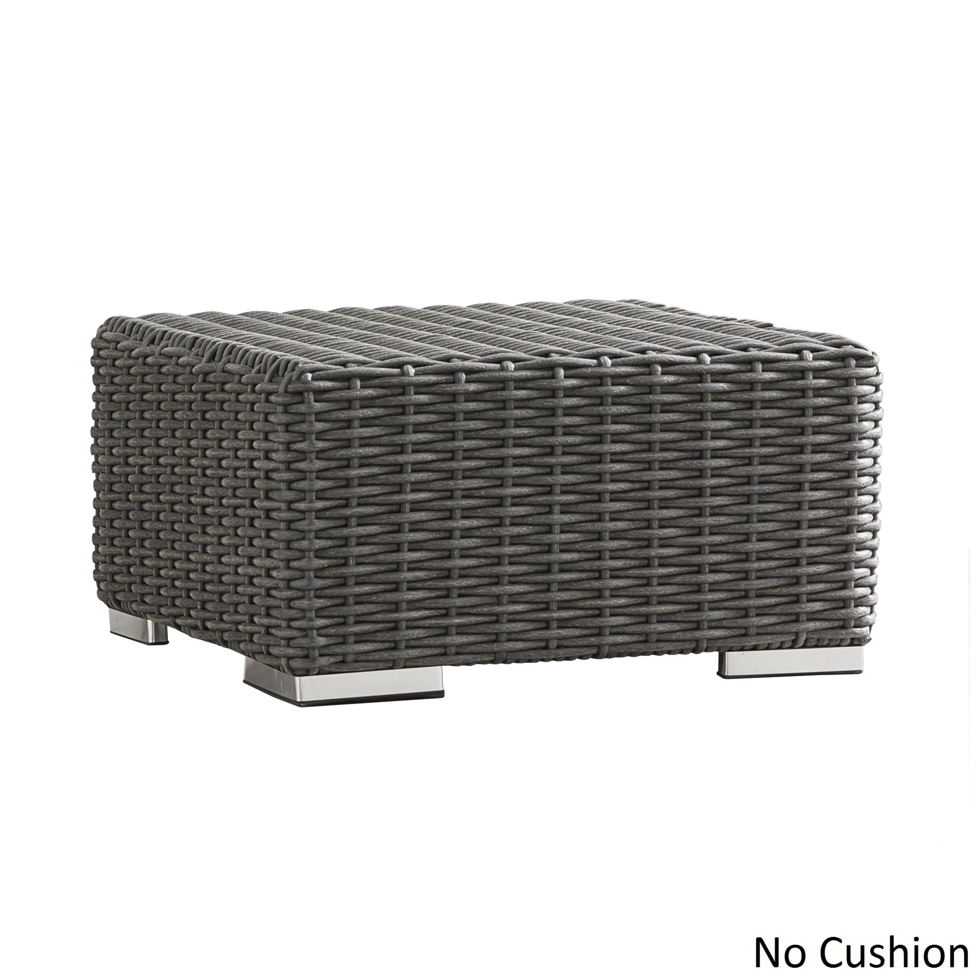 Barbados Wicker Outdoor Cushioned Grey Charcoal Grand Ott...