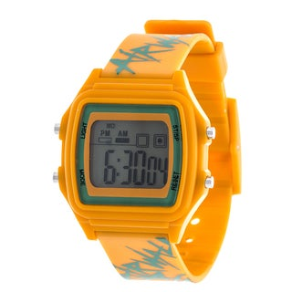 Airwalk Orange Digital Watch w/ Silicon Strap Design