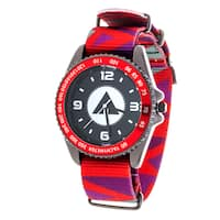 Airwalk Metal Alloy Case w/ Red Designed Cloth Strap Analog Watch
