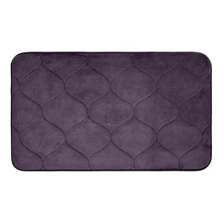 Palace Memory Foam 17 in. x 24 in. Bath Mat w/ BounceComfort Technology