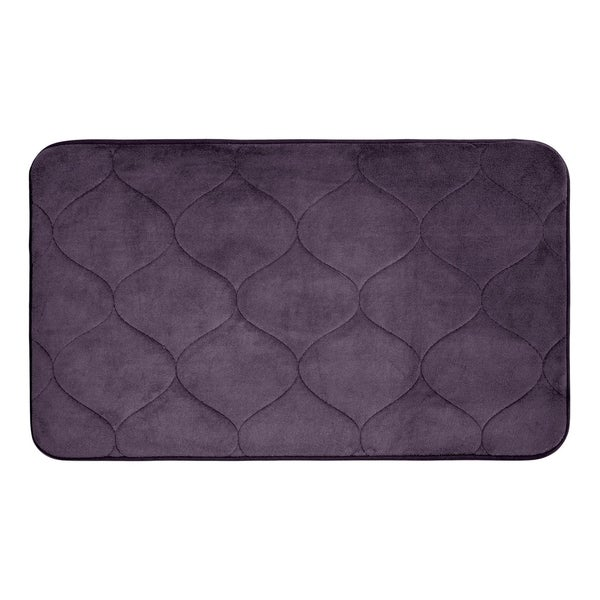 Palace Memory Foam 17 in. x 24 in. Bath Mat w/ BounceComfort Technology