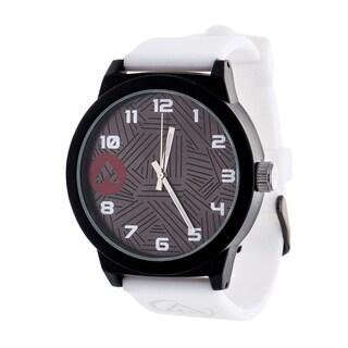 Airwalk Solid White Silicon Strap Analog Watch